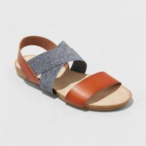 Universal Thread Footbed Slide Sandals